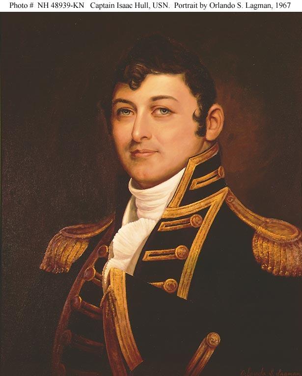 Captain Isaac Hull, USN