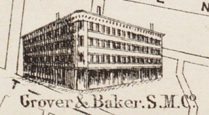 Grover and Baker Sewing Machine Co., est. 1855
